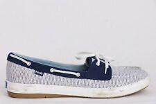 Womens Keds Boat Flats Blue Shoes Size 10