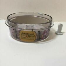 Small Bowl and Adapter Shaft Part Hamilton Beach 14-Cup Food Processor