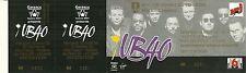 RARE / TICKET BILLET DE CONCERT - UB40 UB 40 LIVE A COLMAR FRANCE AOÛT 1994