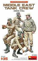 Middle East Tank Crew 1960-70s (4 Figures) 1/35 MiniArt  37061