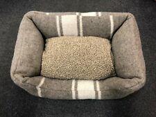 "2.8 Duepuntootto Handmade ""Cuccia"" Military Wool Small Dog Bed 40x60cm"