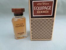 """HERMES """"EQUIPAGE """"AFTER SHAVE  MINIATURE 10 ML"""