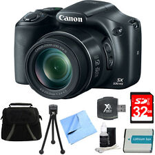 Canon PowerShot SX530 HS 16MP 50x Zoom HD 1080p Digital Camera 32GB WiFi Bundle