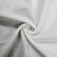"Solid Colored 54"" 6 oz Linen Fabric by the Yard or Sample Swatch"