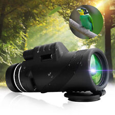 40X60 Monocular HD Telescope Day & Night Vision Optical Dual Focus Optics Zoom