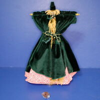 Barbie Doll Outfit Carol Burnett Went with the Wind Curtain Dress Hat Shoes