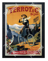 Historic Cycles Terrot & Cie, 1905 Advertising Postcard