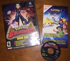 Pokemon Colosseum Bonus Disc (Nintendo Gamecube, 2004) Works Great! Rare