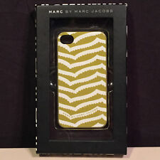 APPLE IPHONE 4/4S PROTECTIVE CASE COVERING DESIGNER MARC JACOBS LOT OF 3!!