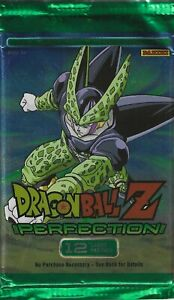 Dragon Ball Z Perfection Panini TCG Game Booster 12 Card Pack DBZ x1