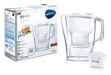 Brita Caraffa Filtrante Per Acqua Aluna White Con 1 Filtro MAXTRA+ Depuratore