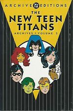 DC ARCHIVES NEW TEEN TITANS VOL 3  HC MINT/SEALED