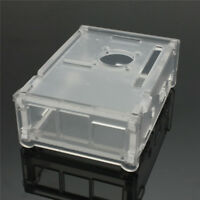 Clear Acrylic Case Enclosure Box for Cooling Fan Heatsink Kit Raspberry Pi2/3/B+
