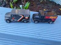 MATCHBOX INTERNATIONAL ARMORED CAR x 2