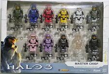 Kubrick Bungie Halo 3 Exclusive Master Chief Collector Set of 11 Figures!