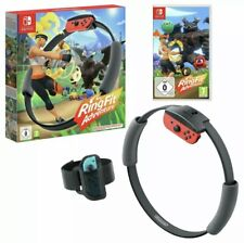 Nintendo Switch Ring Fit Adventure & Game - Brand New & Sealed