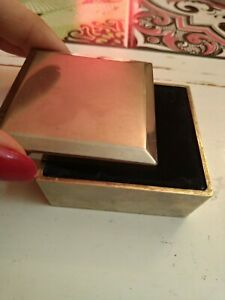 Small Box, Box IN Metal, Vintage