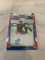 Jaquan Johnson Prizm Red/White/Blue Auto RC #81/99