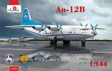 Amodel 1/144 Antonov an-12b International Cargo Transporteur # 14470