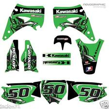 NG RACING KAWASAKI KX125 KX 125 KX250 250 Motocross Graphic Kit 2003 - 2012