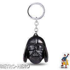 Schlüsselanhänger Star Wars Darth Vader Metall Helm Schwarz Keychain Maske NEU