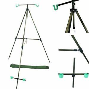 DELTA FISHING Transformer Rod Pod 3 In 1 XXL High Pod Tripod /& 6 Auflagen
