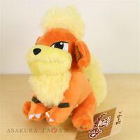 Pokemon Center Original Pokemon fit Mini Plush #58 Growlithe doll Toy Japan