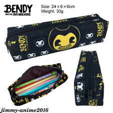 Bendy and the Ink Machine Print Pencil Case Pen bag Stationery School Supplies