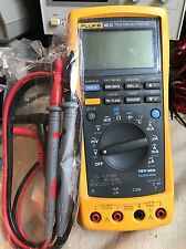 Fluke 189 89IV 89-IV 50000 Count, Used Tested Great Condition Dual Display