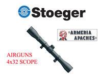 Optique affaire claire viseur pour carabine Stoeger armes à air comprimé 4x32