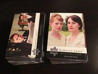 Cryptozoic Downton Abbey 1 & 2 Complete Base Trading Card Set 126 Cards