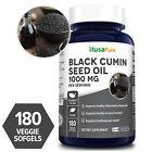 NusaPure Black Seed Oil  1,000 mg - 180 Veg  Caps ( NON-GMO & Vegetarian )-