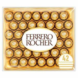 Ferrero Rocher Chocolate Pralines UK Collection Gift Box 16-32-48-24-42 Piece