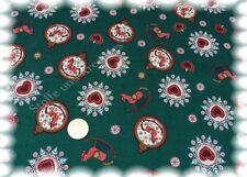 Bijoux de Noël de Noël tissu vert coton 50 Cm Noël Decoration coudre