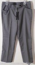 NWT Jones New York Signature Womens Woven Stretch Dress Pants 12 Black/Multi $79