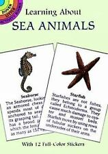 Learning About Sea Animals Dover Little Activity Books