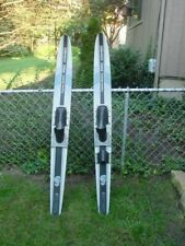 Vintage  Cypress Gardens PRO COMBO  Pair Water Skis