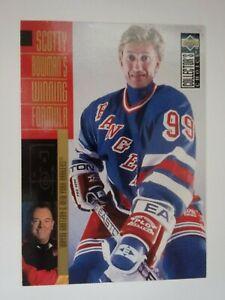 1996-97 Upper Deck Collector's Choice #290 Wayne Gretzky New York Rangers