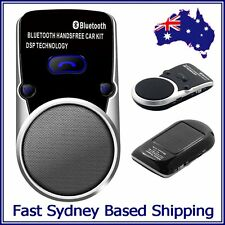 NEW - Solar Powered Bluetooth Portable Car Kit Speaker Phone Wireless Handsfree