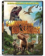 CAMINANDO ENTRE DINOSAURIOS LA PELICULA DVD NUEVO [ SIN ABRIR ]