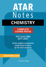 ATAR Notes VCE Chemistry Units 3&4 Notes