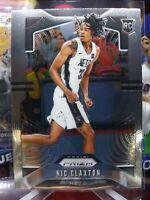 NIC CLAXTON 2019-20 Panini PRIZM Basketball Rookie Card Base #292 Brooklyn Nets