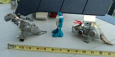 Lot of 3 1984 Transformer Items T-Rex, Slag & Plane Used