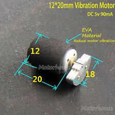 Mini 12mm*20mm 5V 90mA motor vibration motor vibration massager + buffer cushion
