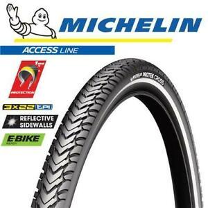 Michelin Bike Tyre - Protek Cross - 700 x 35C Wire - City Treking