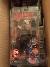 "neca sdcc 2012 freddy krueger comic book 7"" figure nightmare on elm st"