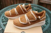 Ladies Ugg Trainers Ashby Spill Seam Sneakers Chestnut UK 5 RRP £125 New In Box