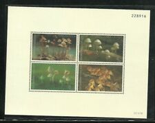 Thailand 1993 MNH SS  Environment Conservation Mushrooms