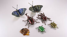 Kaiyodo Capsule Q Museum Insects gather to Sap Full Complete Set