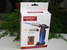 Honest BCH 517 Jet Flame Torch 2 Fire Mode Butane Gas Lighter (Silver)